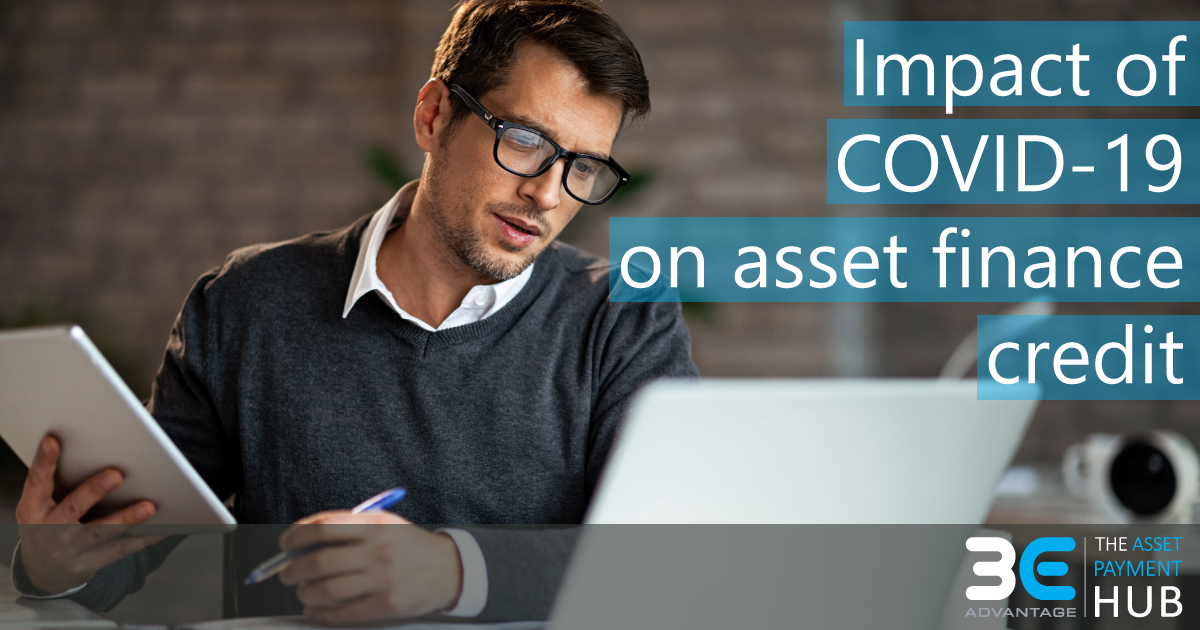 impact of covid-19 on asset finance credit