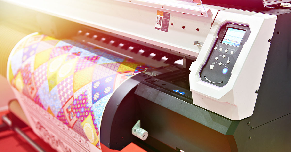 Big plotter printer