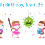 Happy 6th Birthday Team 3E