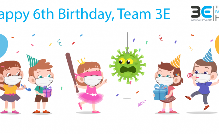 Happy 6th Birthday Team 3E
